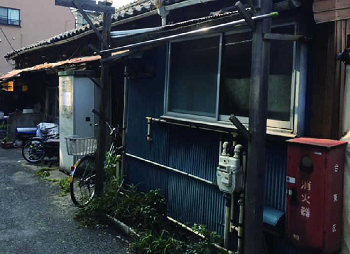 築不詳の老朽化住宅